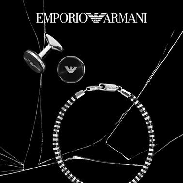 Emporio Armani Kol Düğmesi Renkli